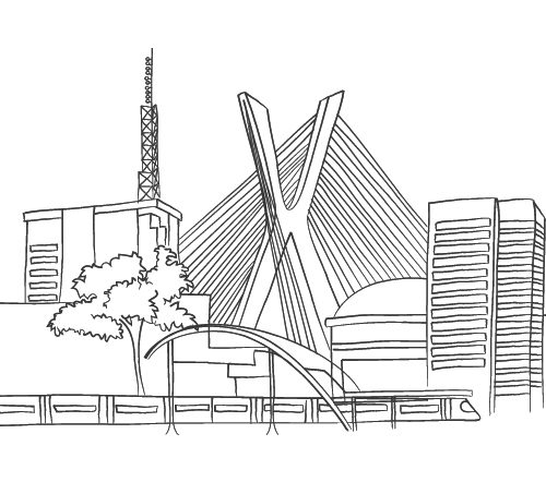 Ilustração Prédios Berrine