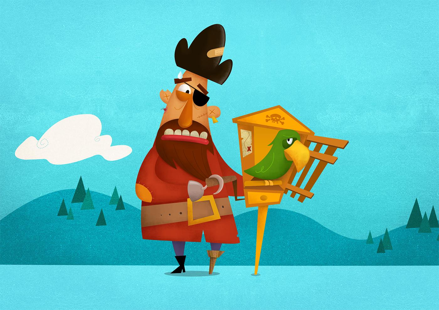 Ilustração de personagem